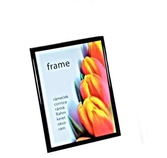 fotorámik na fotku čierny rámik