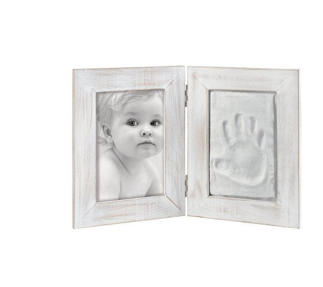 NOVINKA od Mascagni - Biele fotorámiky s modelovacou hmotou