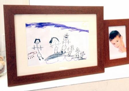 detska kresba do fotoramiku