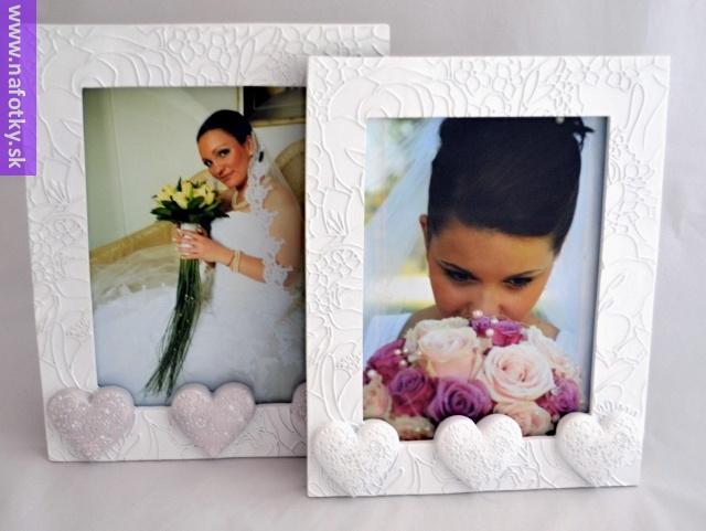 nevesta na svadobnej fotografii