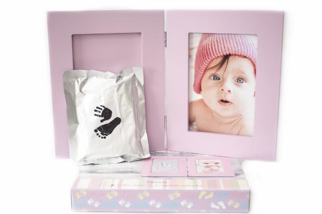 Fotorámik BABY WORLD PINK 13x18 + modelovacia hmota