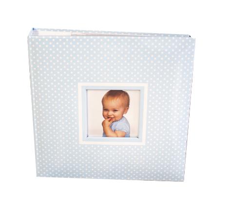 Fotoalbum detský MAŠLIČKA BLUE 200/10x15 (detský fotoalbum na)