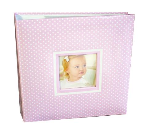 Fotoalbum detský MAŠLIČKA PINK 200/10x15 (detský fotoalbum na)