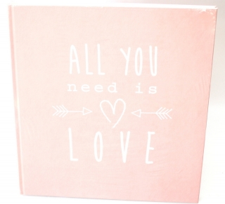 Fotoalbum ALL YOU NEED IS LOVE - PINK