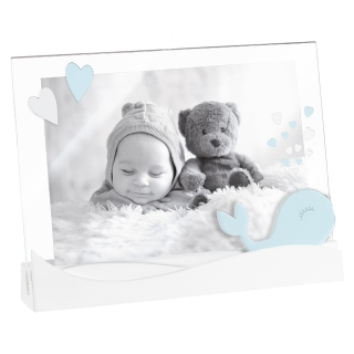 Fotorámik KIDS HEARTS BLUE A1079