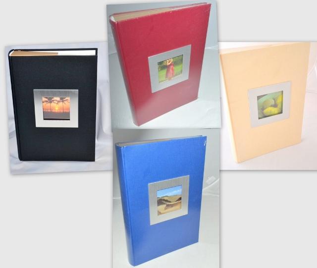 jednofarebný album na fotky