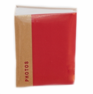 Fotoalbum UNIFORM RED 200